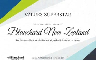 Values Superstar Award