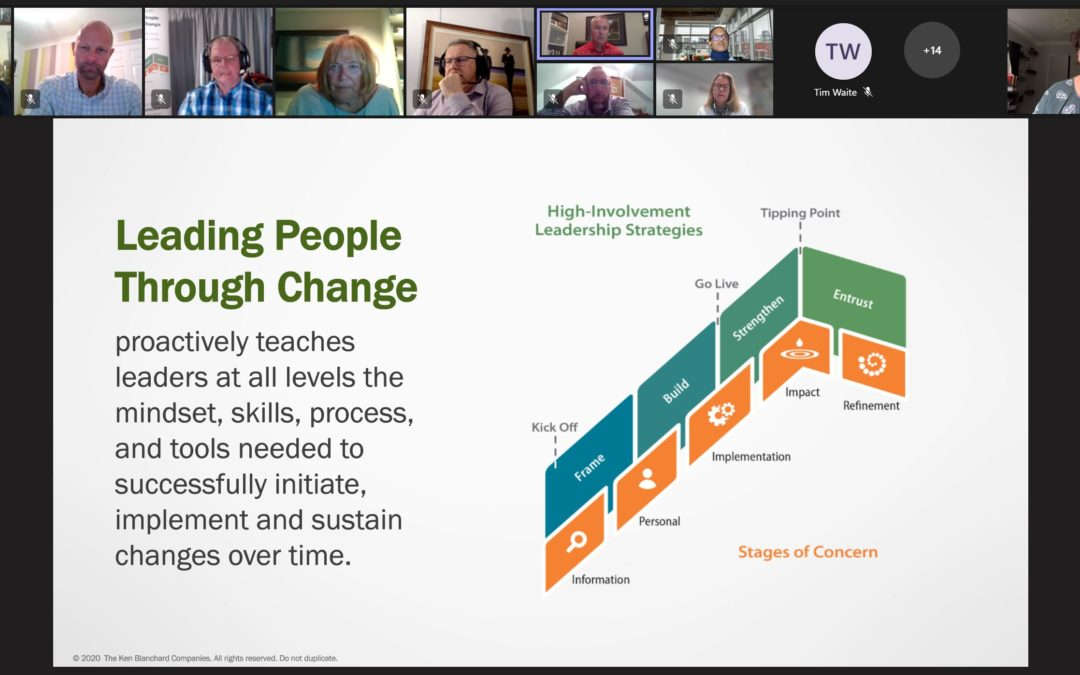 Leading People Through Change – Meet the Author Session 22nd September 2021